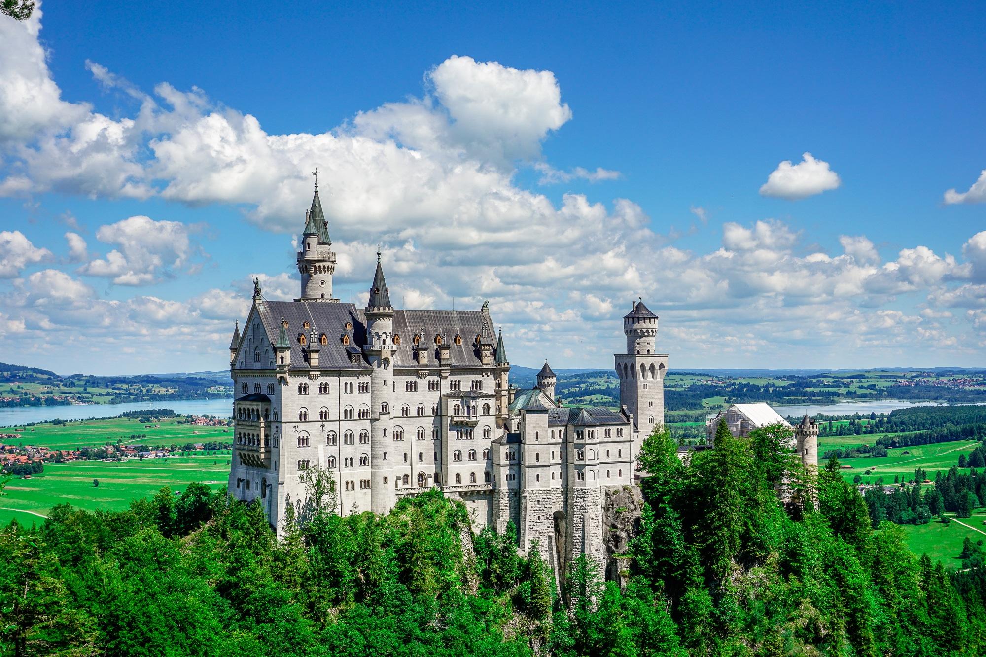 Füssen im Allgäu: Schloss Neuschwanstein, Mountainbiken und Wandern im Allgäu