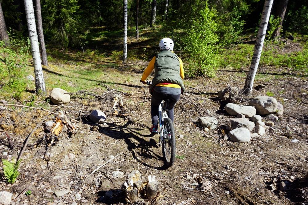 Südkarelien: Mountainbike auf den Trails rund um Imatra, Finnland