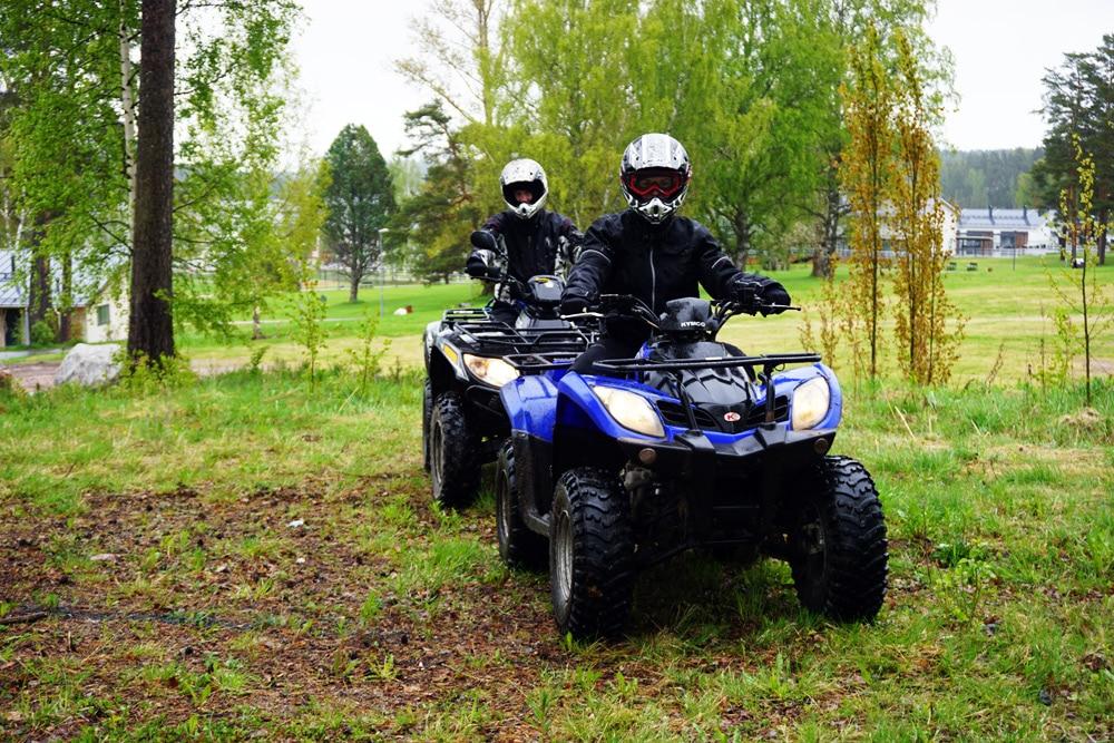 Quad Tour in Imatra, Finnland: ATV Tour durch die Wälder von Südkarelien