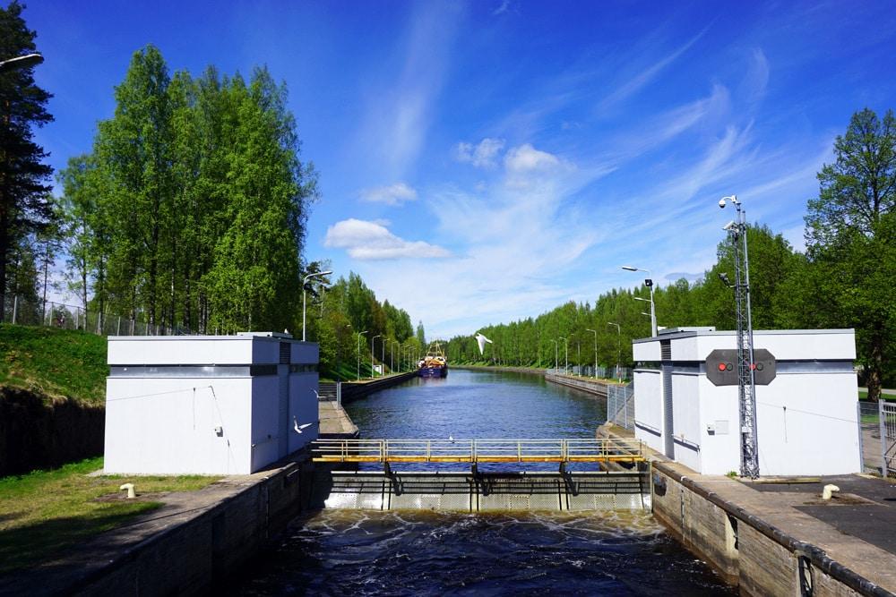 Saimaa See: Eine Bootstour von Lappeenranta auf den Saimaa Kanal