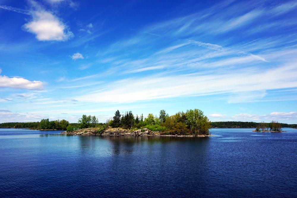 Saimaa See Archipel in Südkarelien, Finnland
