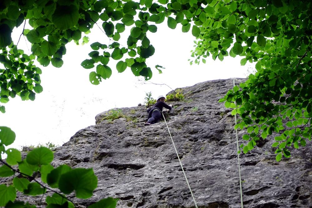 Kletternkreich: Kletterrevier Cirque des Baumes in der Lozere