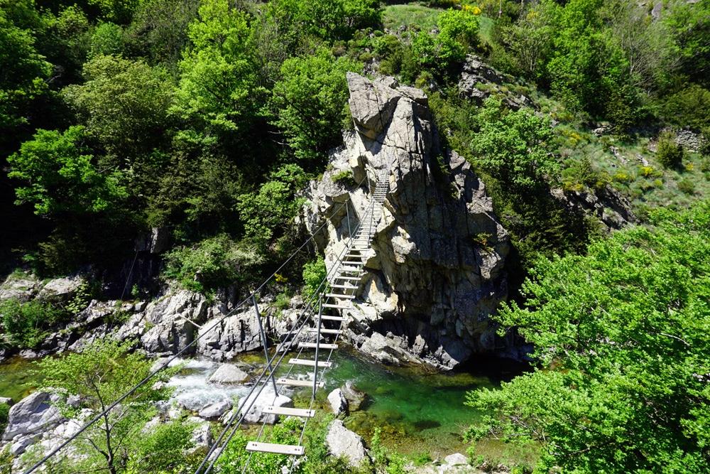 Frankreich Roadtrip: Via Ferrata des Rousses Klettersteig in der Lozere