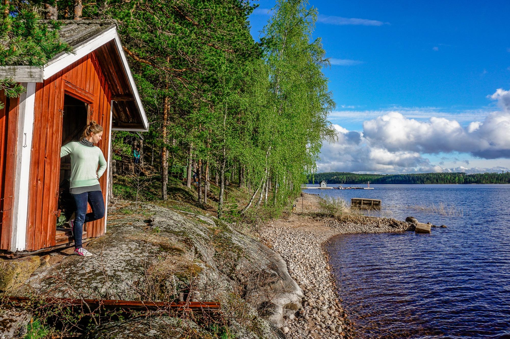 Der Saimaa See in Finnland, Südkarelien: Eine Reise nach Imatra und Lappeenranta