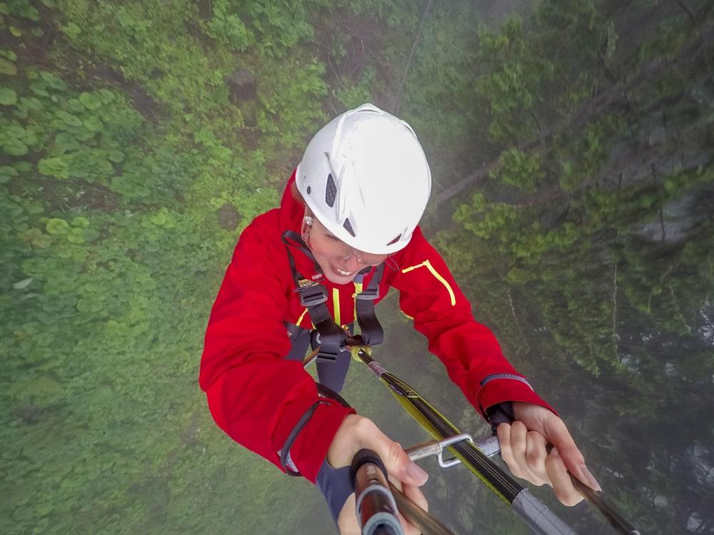 Füssen: Ziplining am AlpspitzKICK in Nesselwang - Zipline