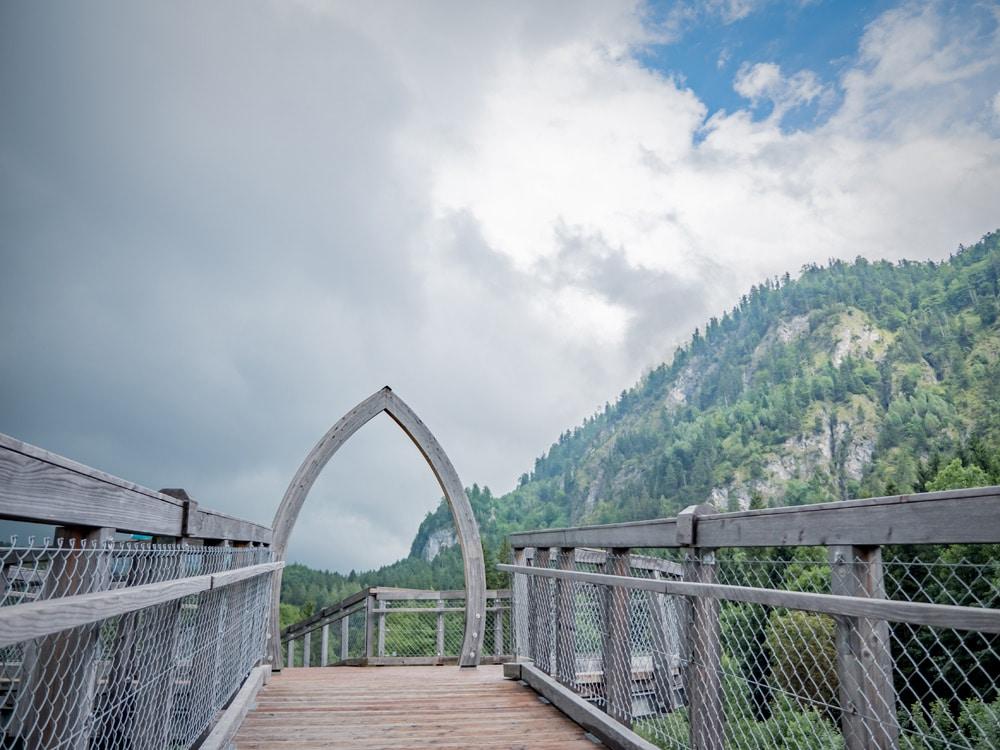 Füssen: Baumkronenweg im Walderlebniszentrum Ziegelwies