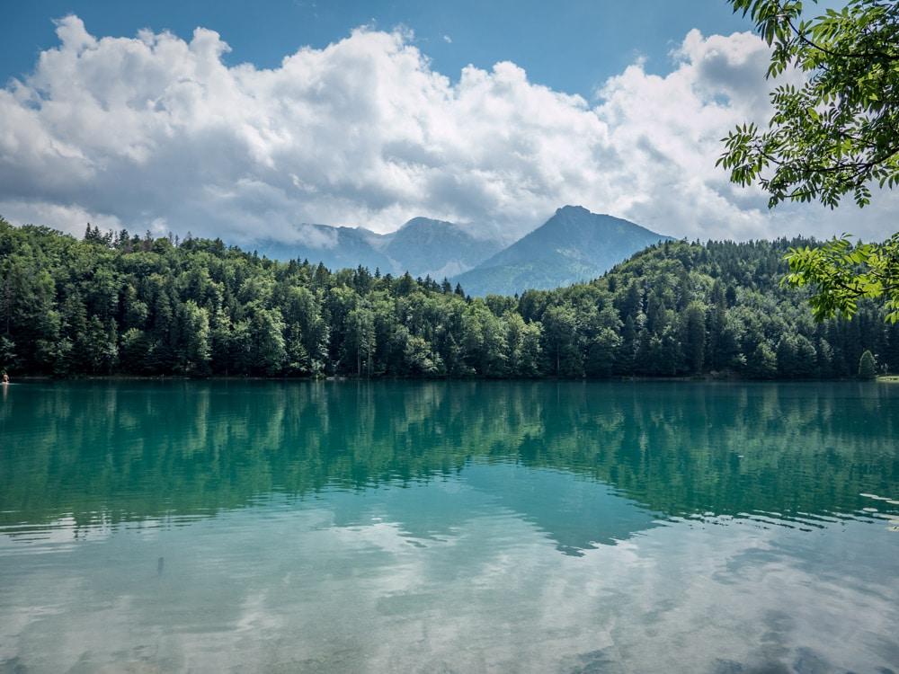 Wandern in Füssen: Drei Schlösser Runde zum Schloss Neuschwanstein