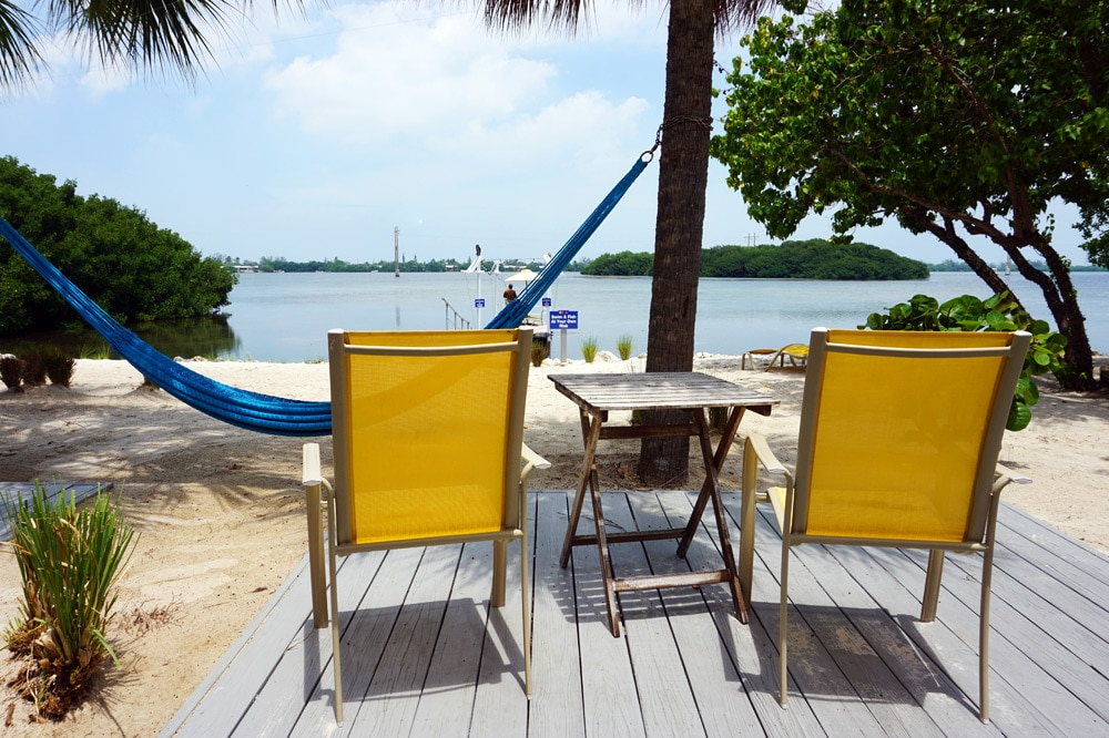 Florida Keys Roadtrip: Ibis Bay Beach Resort Key West Terrasse