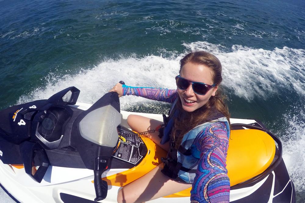 Florida Keys Roadtrip: Jetski Tour mit Fury Water Adventures