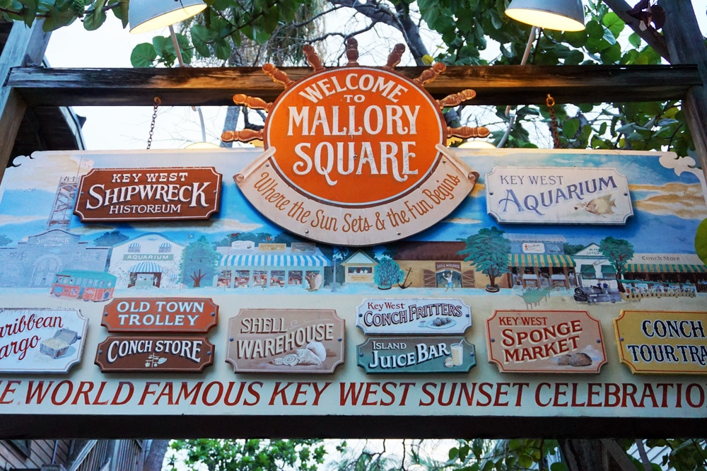 Mallory Square Sunset Celebration Key West - Florida Keys Roadtrip