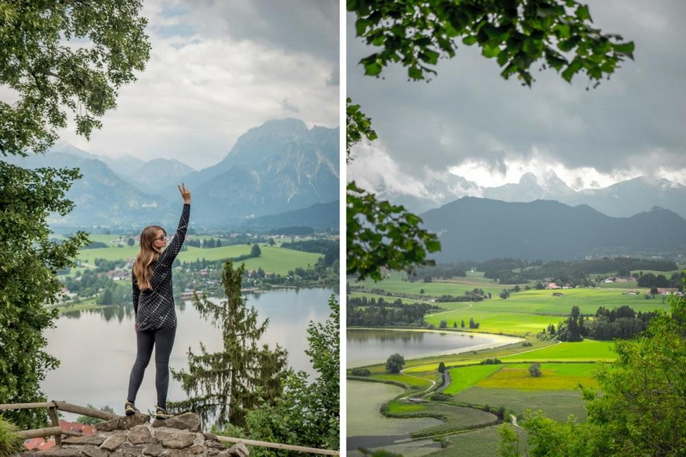 Mountainbiken und Outdoorsport in Füssen