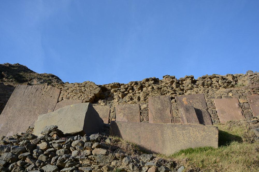 Peru: Ruinen von Ollantaytambo