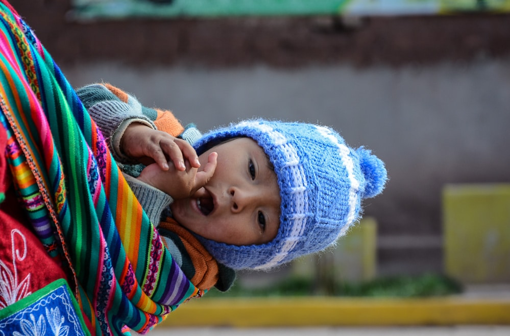 Peru: G Adventures Lares Trek - Womens Weaving Coop in Ccaccaccollo