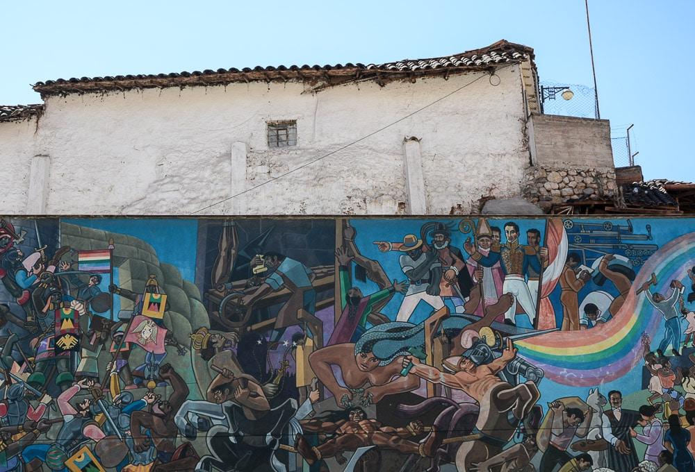 Peru: Graffiti Streetart in Cusco