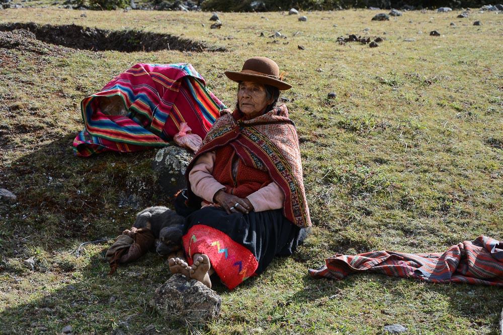 Lares Trek nach Machu Picchu: Tag 1 Trekking in Peru