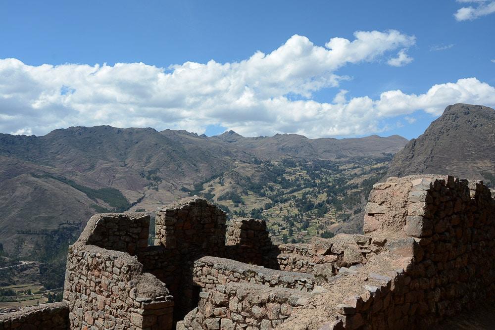 Peru: Ruinen von Pisac