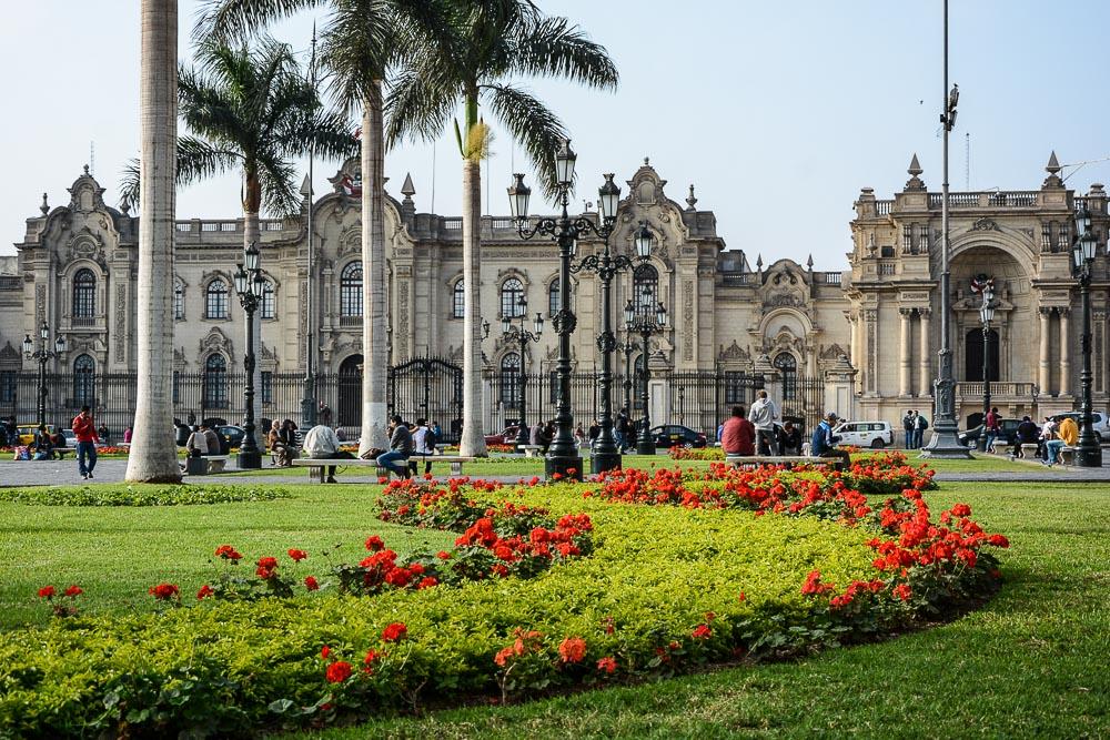 Peru: Plaza Mayor in Lima