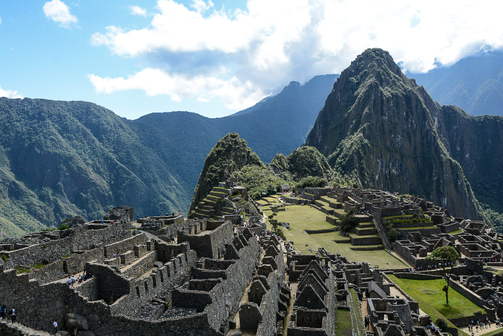 Lares Trek nach Machu Picchu - Machu Picchu in Peru