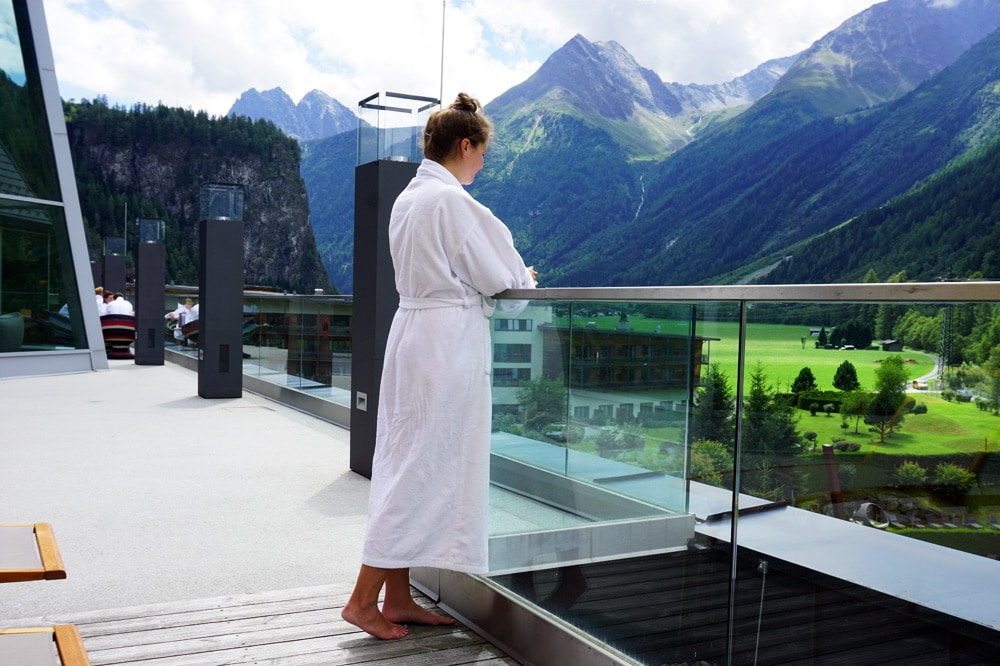 Aqua Dome Längenfeld Wellnesshotel und Thermenhotel - Spa 3000