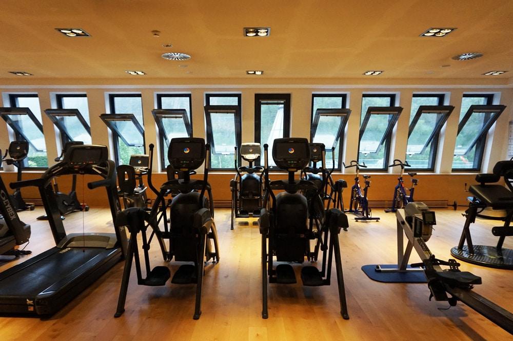 Aqua Dome Längenfeld Wellnesshotel und Thermenhotel - Sportangebot Fitnessstudio