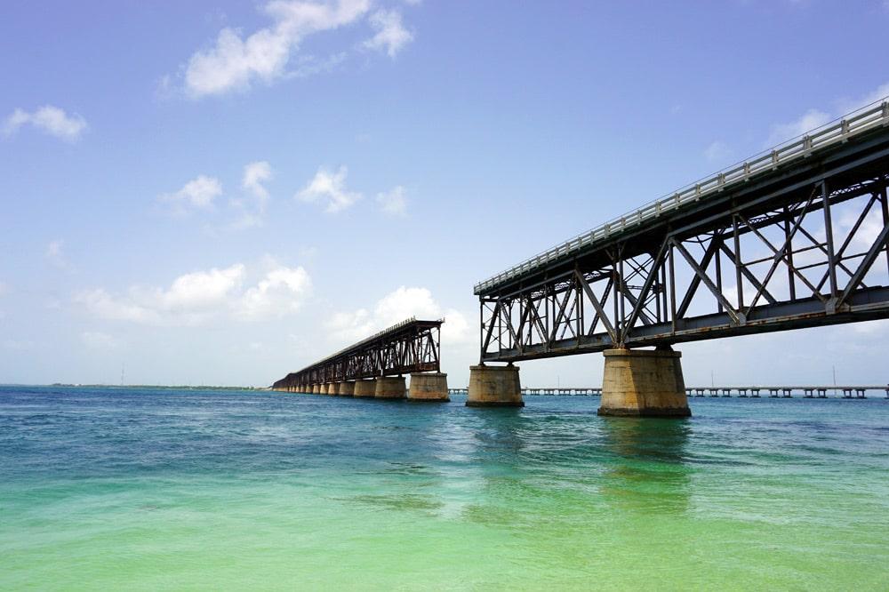 Bahia Honda State Park - schönste Strände Florida Keys - Old Bahia Honda Bridge