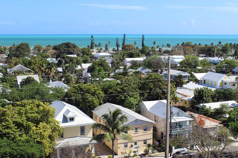 Key West Aussicht vom Leuchtturm - Florida Keys Reise