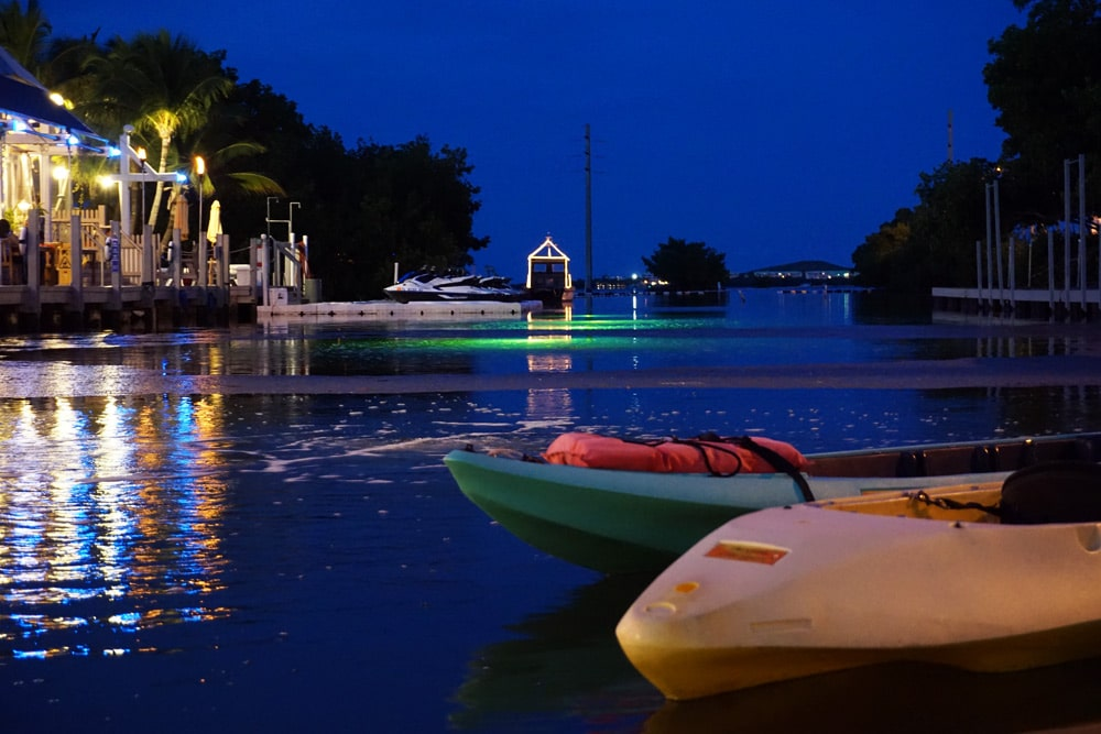 Key West Night Paddling Kayak Tour