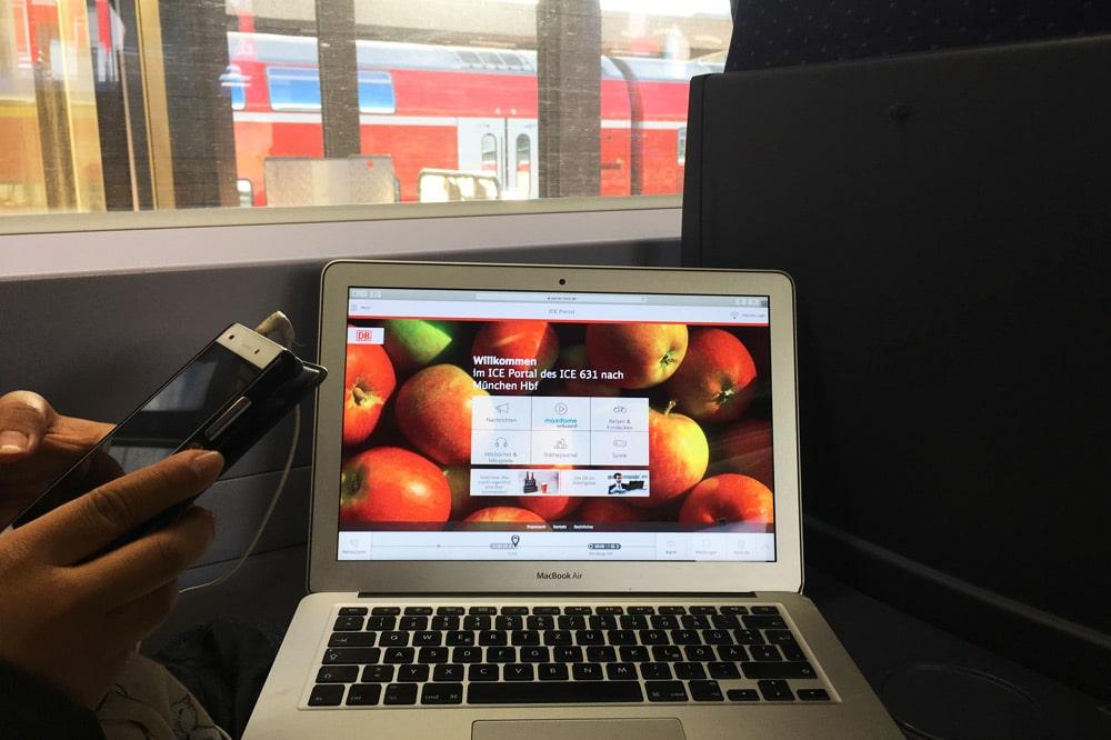 maxdome mytrain: Gewinnt Bahntickets inklusive Serienabo für eure Reise