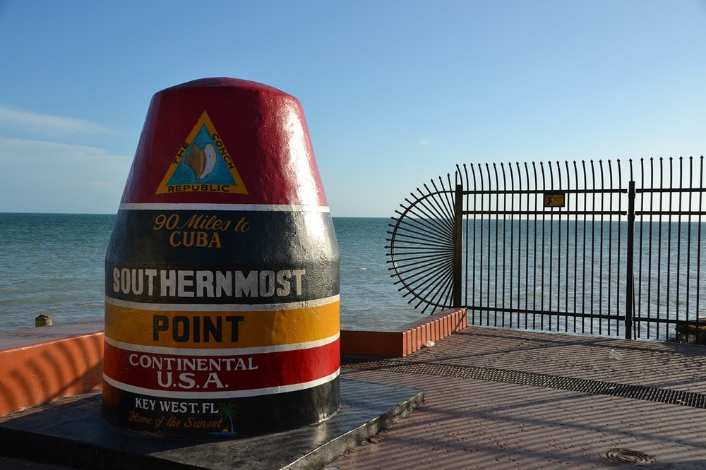 Southernmost Point - Top Ten Key West Sehenswürdigkeiten