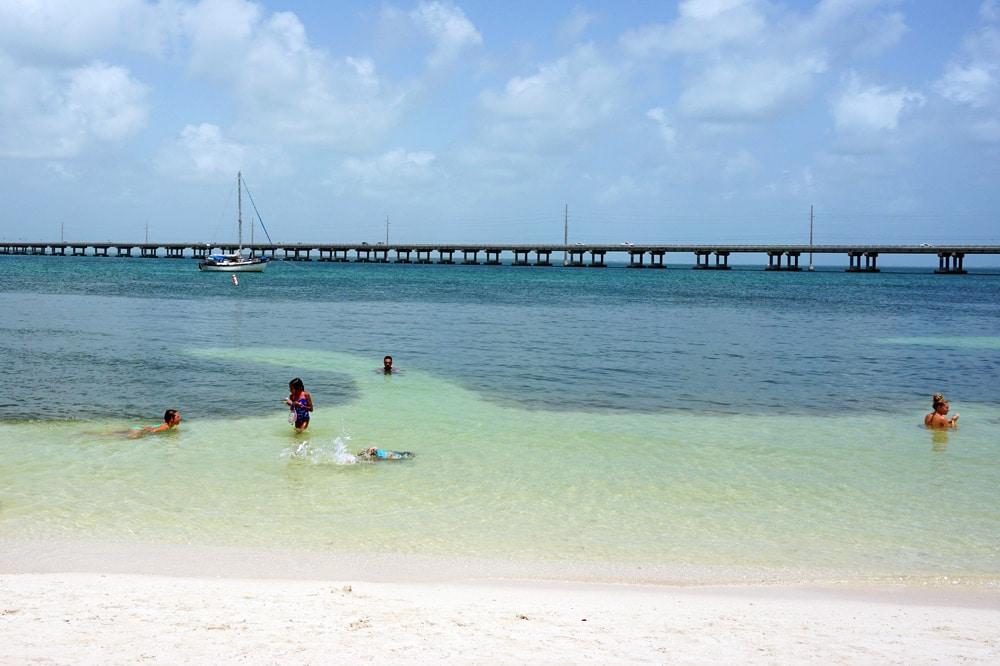 Bahia Honda State Park - schönste Strände Florida Keys - Calusa Beach