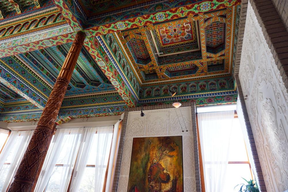 Sehenswürdigkeiten rund um Denver: Boulder - Dushanbe Tea House Teehaus