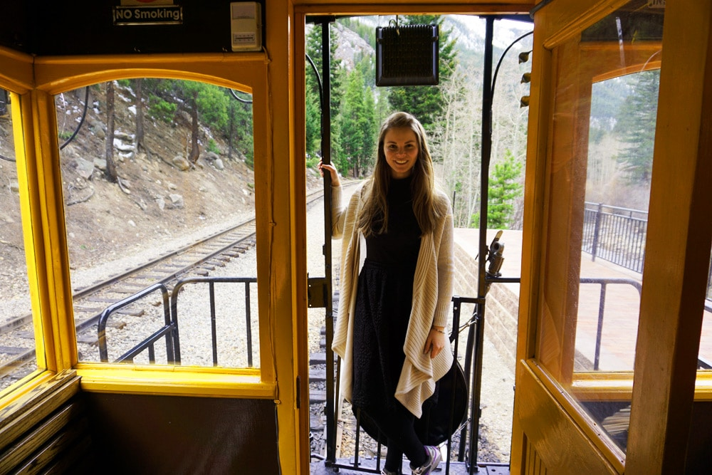 Georgetown Loop Railroad: Fahrt mit der Dampflok durch die Colorado Rocky Mountains