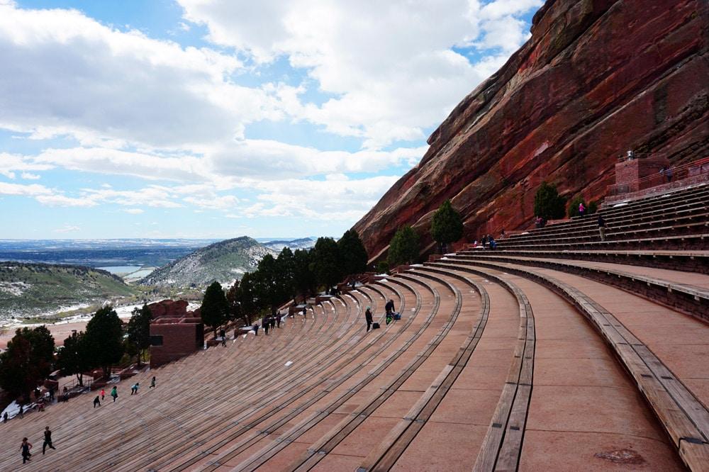 Sehenswürdigkeiten rund um Denver: Red Rocks Park and Amphitheater
