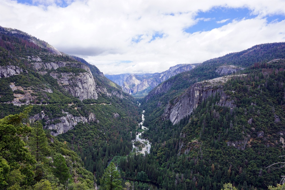 Von San Francisco zum Yosemite Nationalpark - Merced River