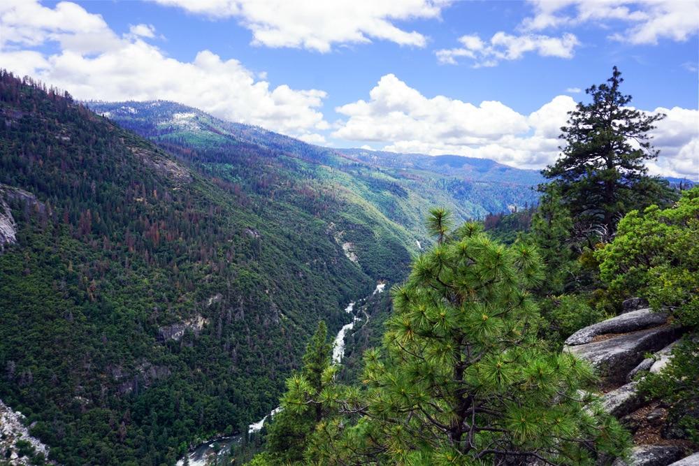 Von San Francisco zum Yosemite Nationalpark - Merced River