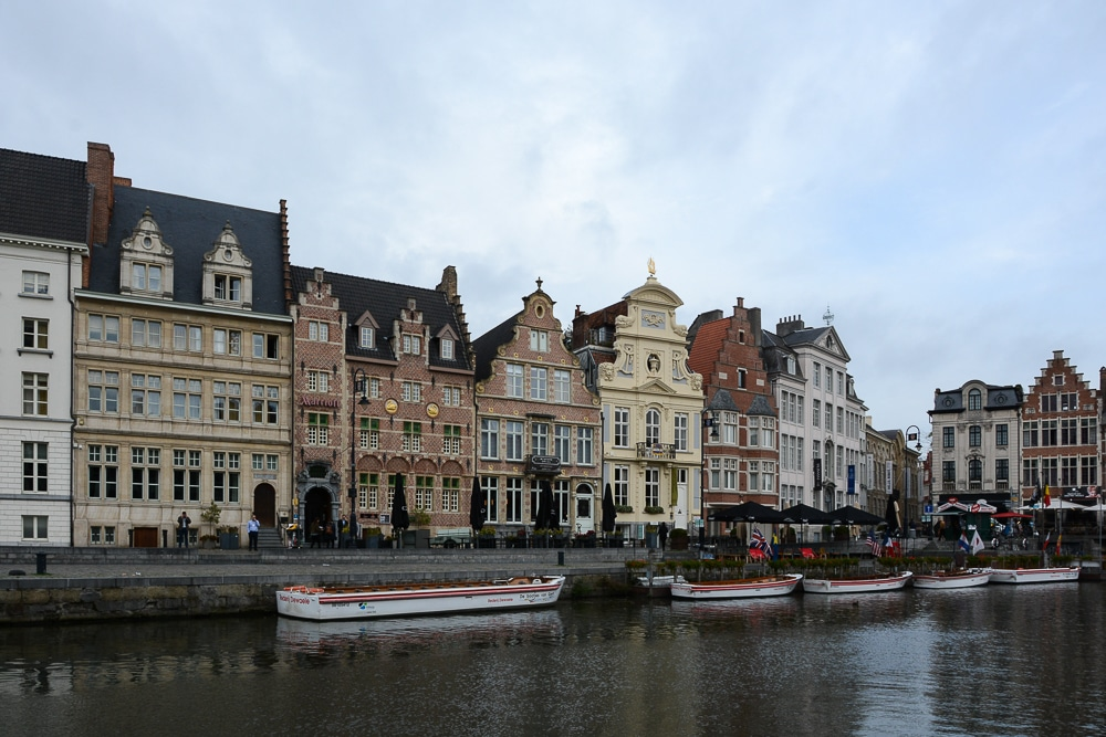 Die erste Flusskreuzfahrt mit der A-Rosa Silva auf dem Rhein. Mein Erfahrungsbericht und die Highlights von Holland und Belgien - Landgang, Sightseeing und Sehenswürdigkeiten - Gent