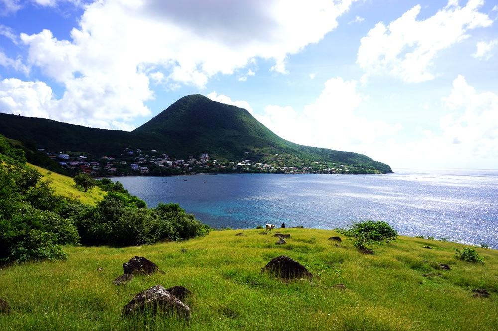 Wanderung zu den heißen Quellen Dlo Ferré in Petite Anse