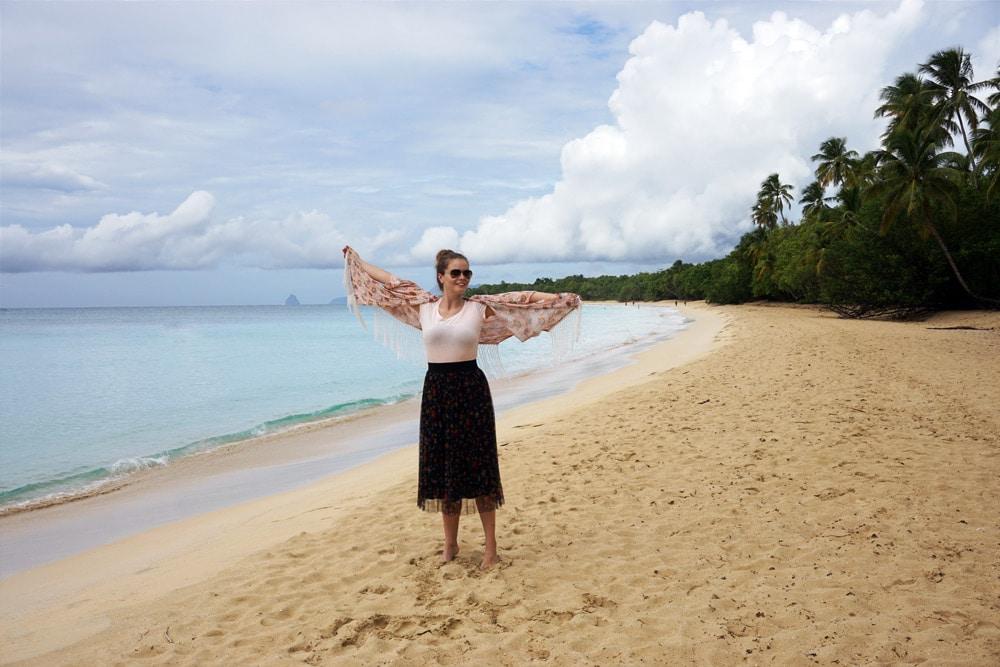 Schönste Strände von Martinique: Plage des Salines im Süden