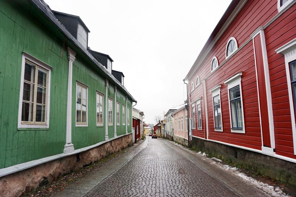 Gamla Stan - Altstadt in Porvoo