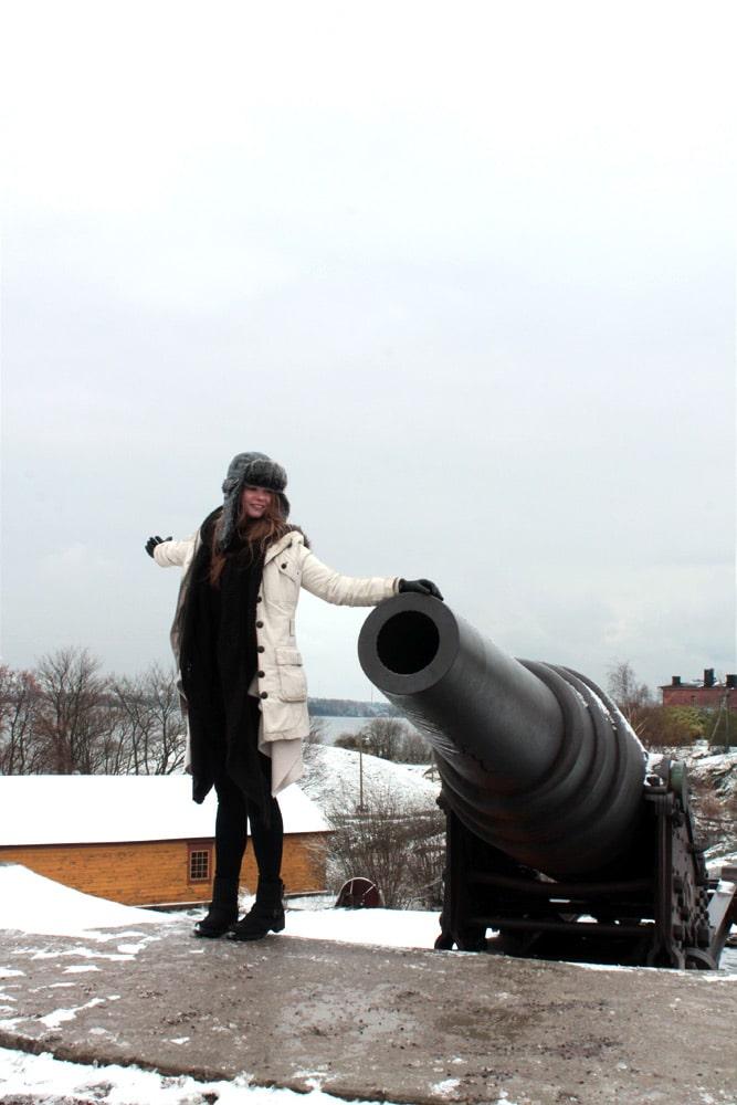 Festung Suomenlinna vor helsinki