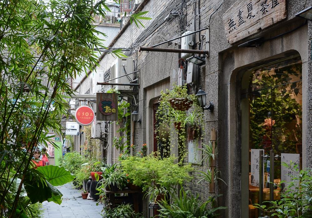 Shanghai: Motorradtour durch die Französische Konzession / French Concession - Tianzifang, das touristische Künstlerviertel