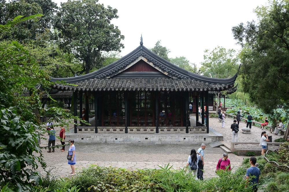Suzhou, China: Garten des bescheidenen Beamten