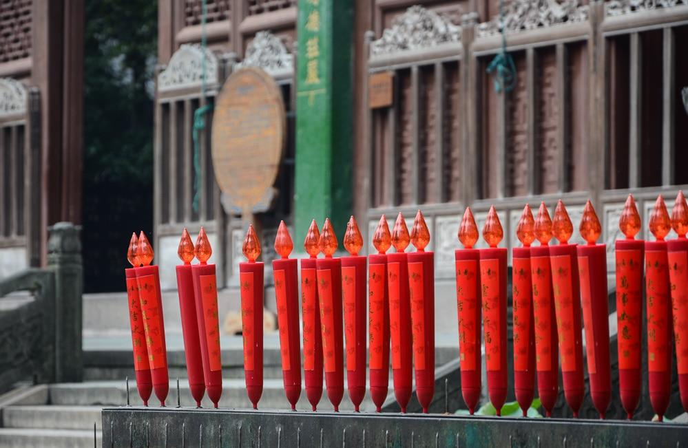 Hangzhou: Lingyin Tempel - China