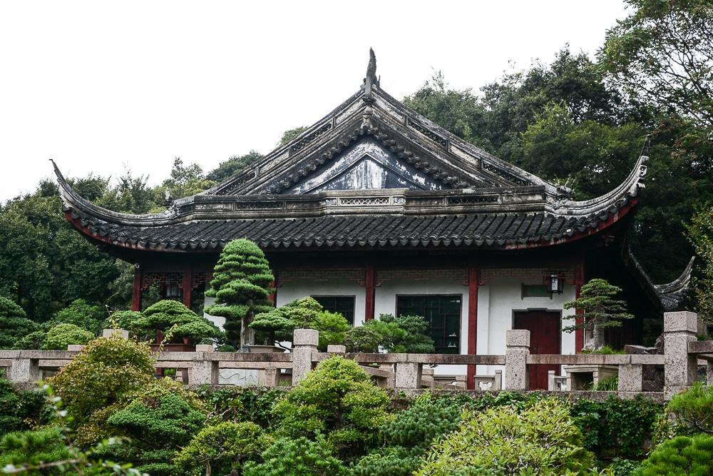 Tiger Hill in Suzhou Hügelkloster Tempel, China