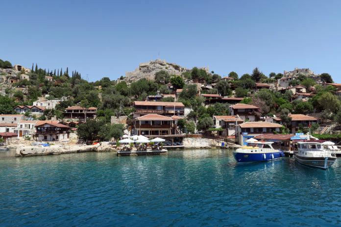 Lykische Küste Top Ten Sehenswürdigkeiten: Dorf Kalekoey