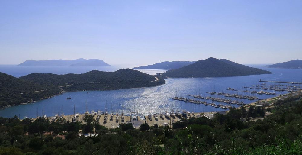 Lykische Küste Top Ten Sehenswürdigkeiten: Kastelorizo und Hafen von Kas