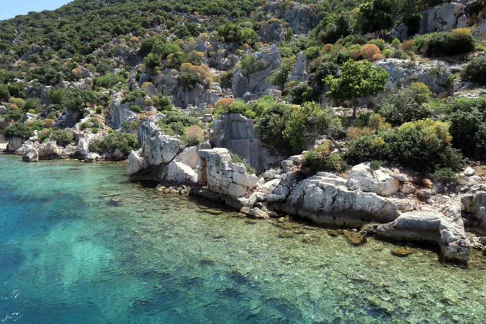 Lykische Küste Top Ten Sehenswürdigkeiten: Insel Kekova