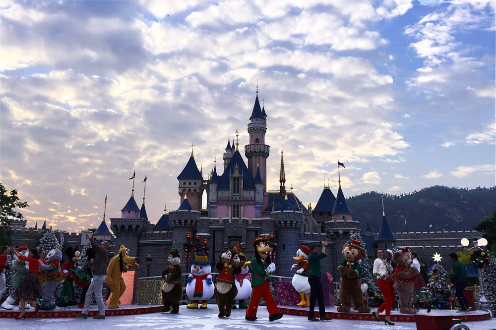 Mickey and Friends Christmastime Ball - Hong Kong Disneyland Main Street