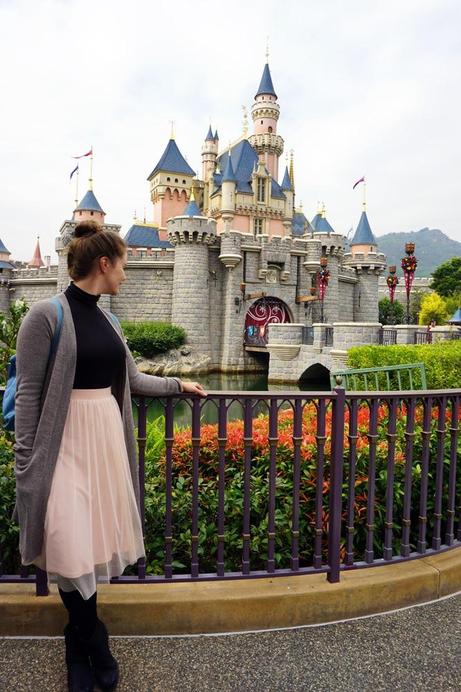 Hong Kong Disneyland Erfahrungsbericht: Fantasyland Disney Castle Schloss