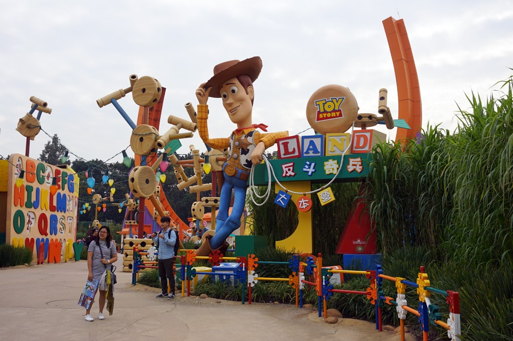 Hong Kong Disneyland Erfahrungsbericht: Toy Story Land